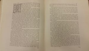 Text of Blind Love from the second volume of The Pageant. It is the first two pages.