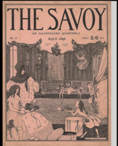 Cover of The Savoy, Vol.2 April 1896