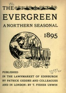 """Cover photo in """"The Evergreen: A Northern Seasonal"""" Spring Volume"""